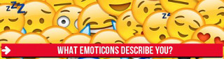 What emojis describe you?