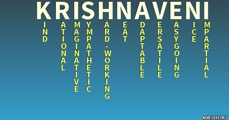 krishnaveni name love