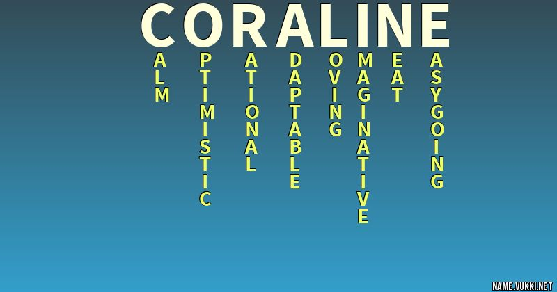 The Meaning Of Coraline Name Meanings