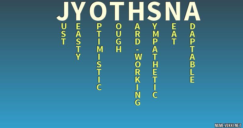 jyothsna name