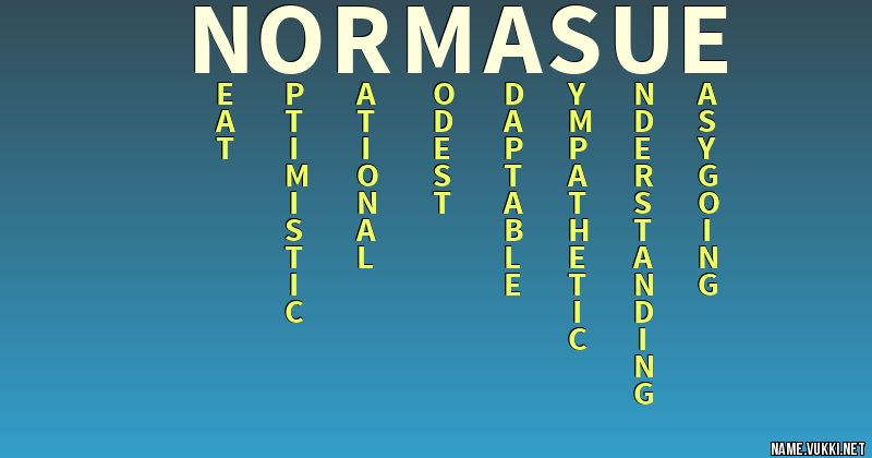 Norma Name Meaning