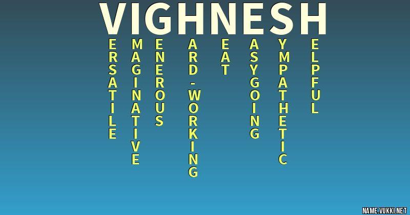 vighnesh name