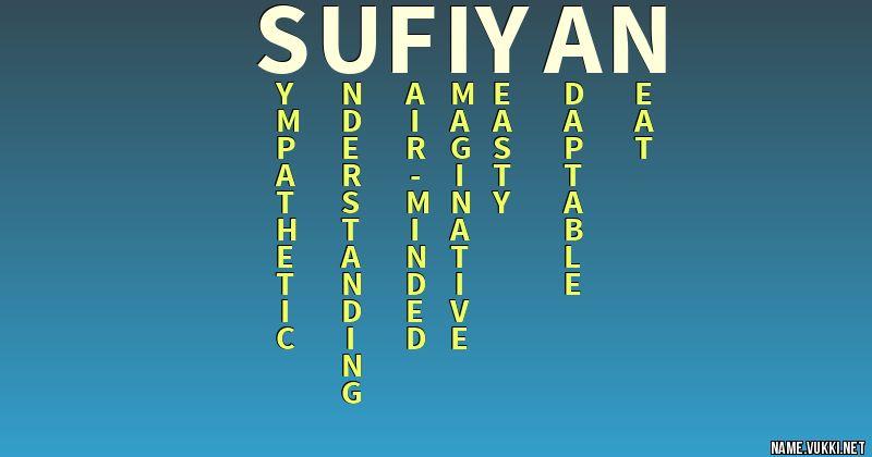 name sufiyan