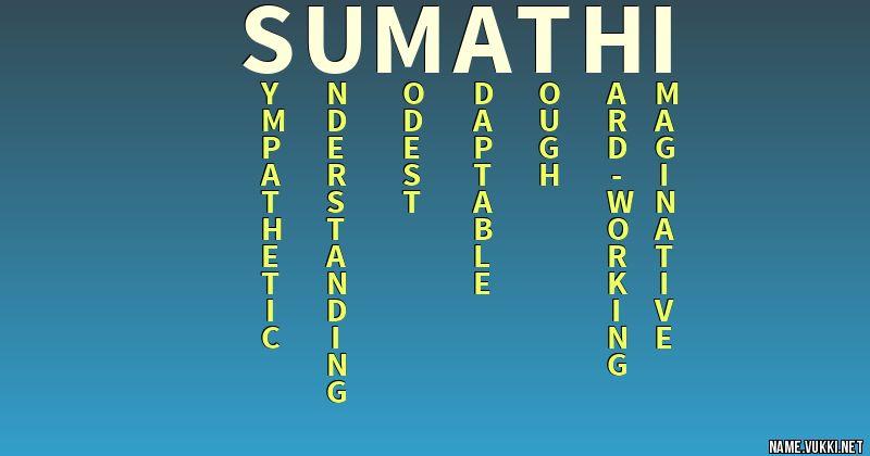 sumathi name