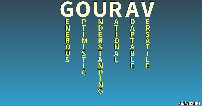gourav name