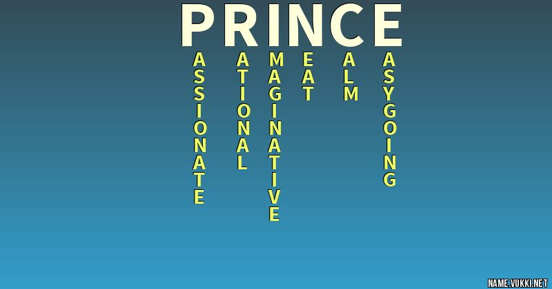 The meaning of prince - Name meanings