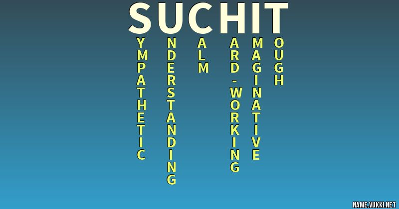 suchit name