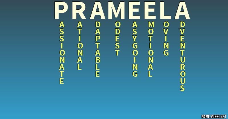 prameela name