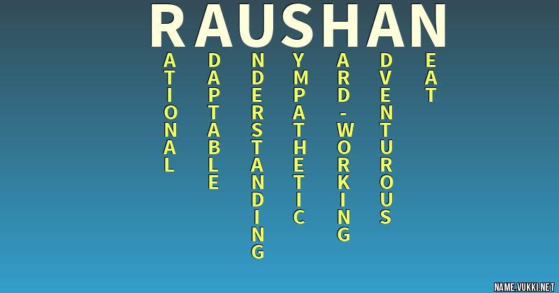 raushan name