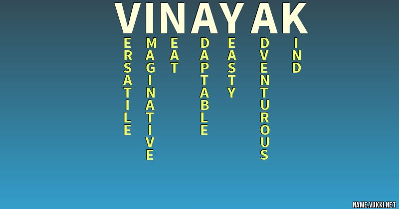 Vinayak Name Cake Images : The meaning of vinayak - Name meanings