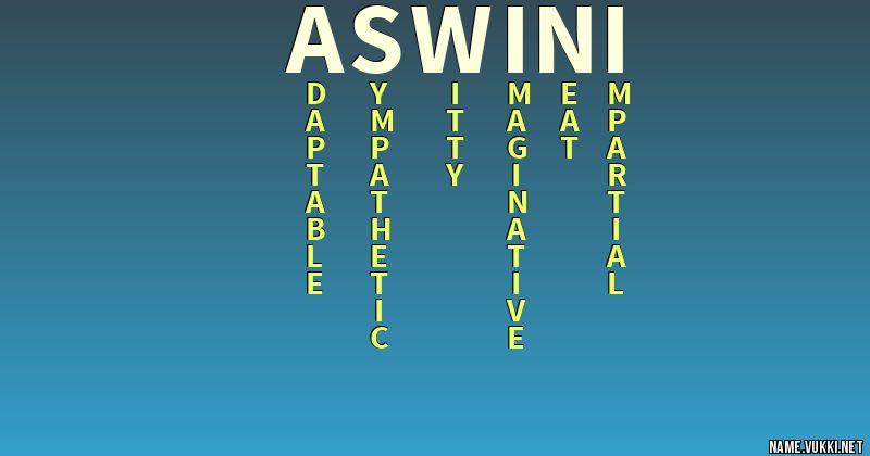 aswini name