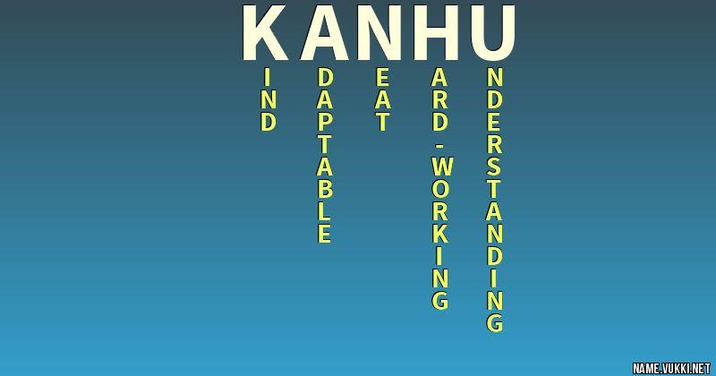 kanhu name