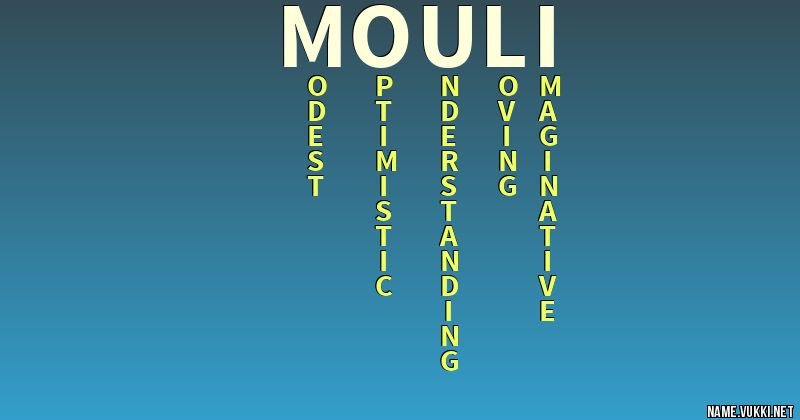 mouli name
