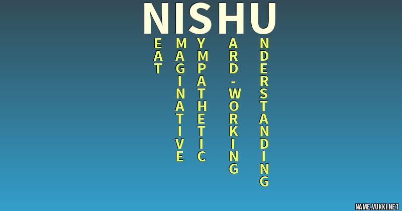 nishu name