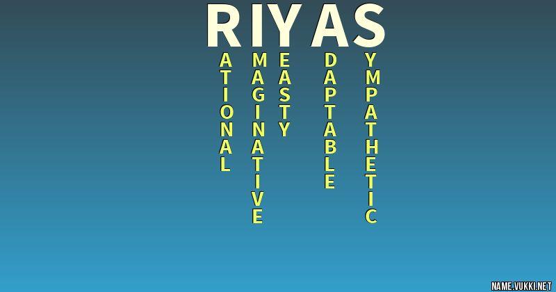 riyas name image