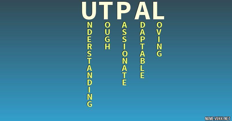 utpal name