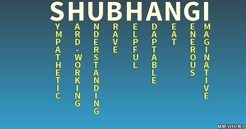 of name shubhangi