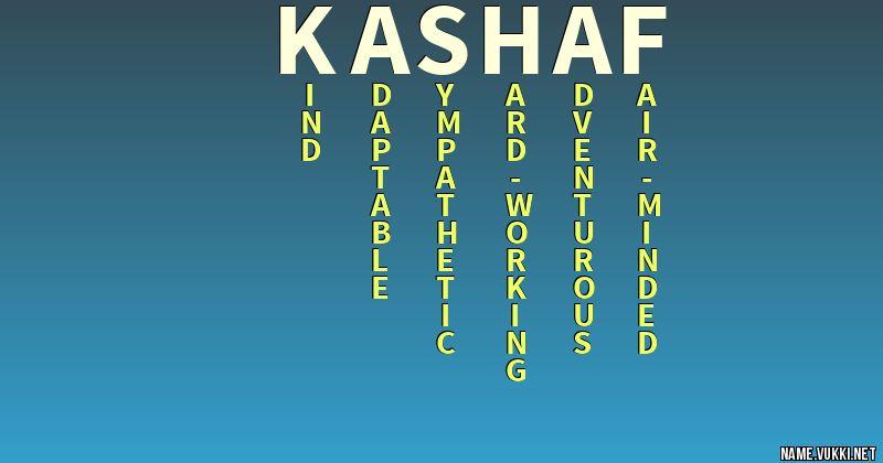 KASHAF NAME WALLPAPER