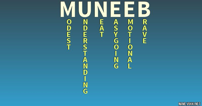 the meaning of muneeb meanings the meaning of muneeb