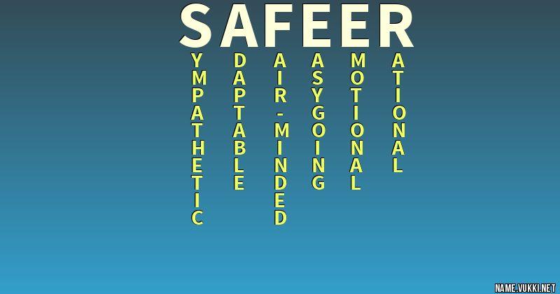 safeer name