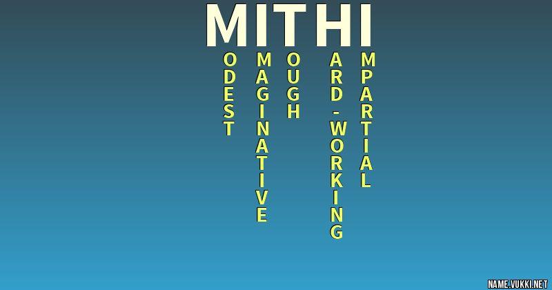 mithi name