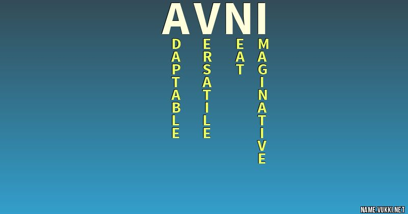 The Meaning Of Avni Name Meanings