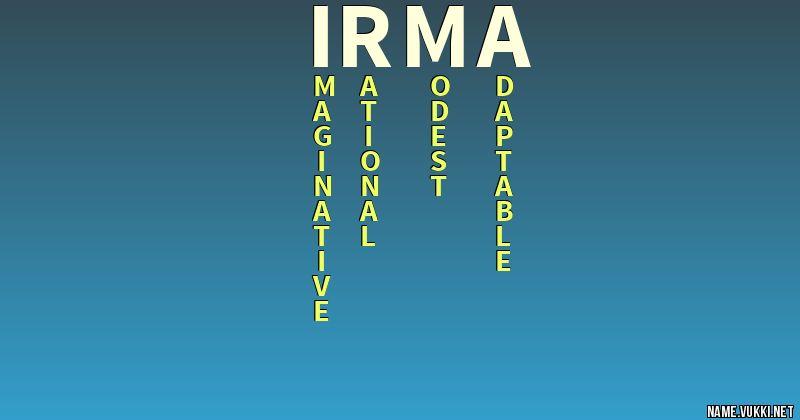 Irma Name