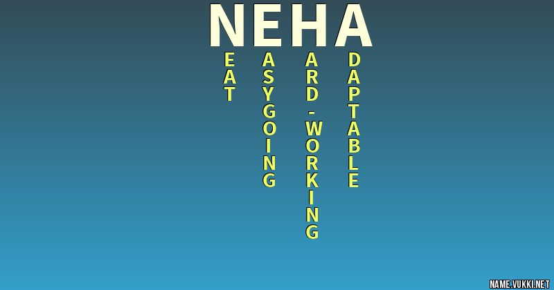 The meaning of neha - Name meanings