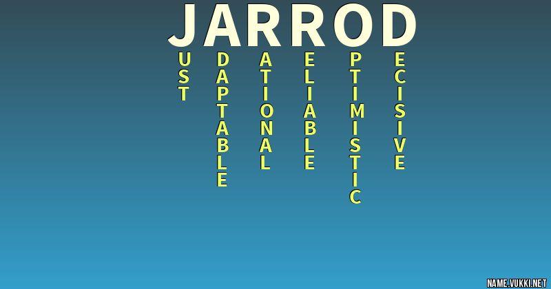 Jarrod Name