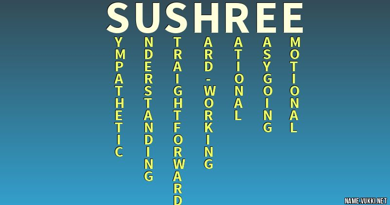 sushri name