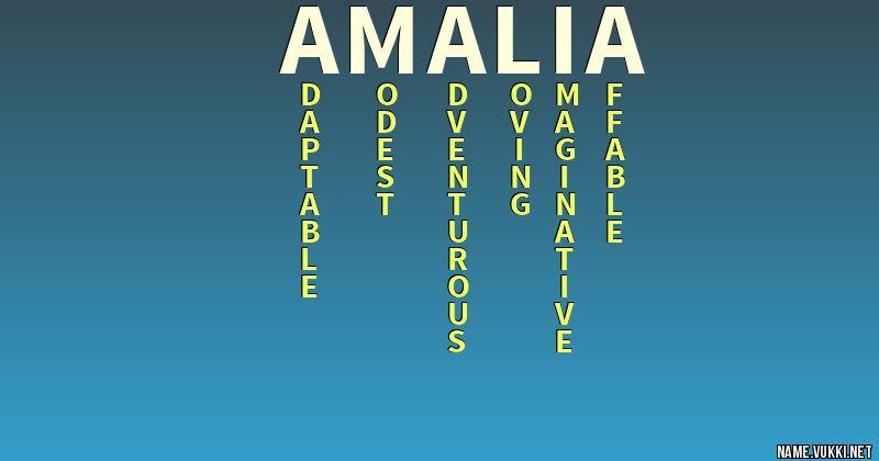 40++ Amalia name meaning hebrew ideas